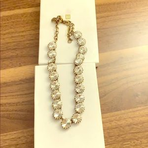 J.Crew Swavorski crystal necklace -  16 inch